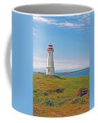 Lighthouse In Louisbourgh-ns Coffee Mug