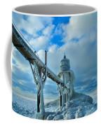 Lighthouse In Saint Joseph Michigan Coffee Mug