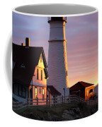 Lighthouse In The Morning Coffee Mug