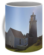 Lighthouse In The Sun Coffee Mug
