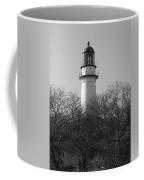 Lighthouse In Trees Coffee Mug