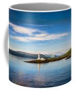 Lighthouse Near Oban In Scotland Coffee Mug