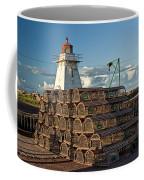 Lighthouse On A Channel By Cascumpec Bay On Prince Edward Island No. 094 Coffee Mug