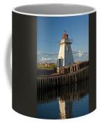 Lighthouse On A Channel By Cascumpec Bay On Prince Edward Island No. 095 Coffee Mug