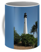 Lighthouse On Key Biscayne Coffee Mug