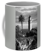 Lighthouse On The Bluff Coffee Mug