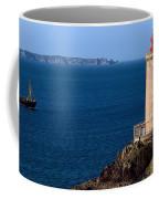Lighthouse On The Coast, Phare Du Petit Coffee Mug