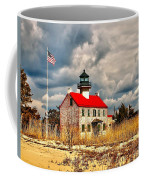 Lighthouse On The Delaware Coffee Mug