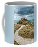 Lighthouse Path Coffee Mug