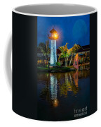 Lighthouse Reflection Coffee Mug by Adrian Evans