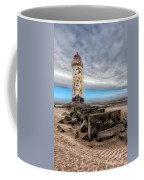 Lighthouse Steps Coffee Mug by Adrian Evans