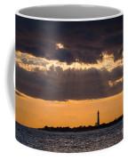 Lighthouse Sun Rays Coffee Mug