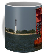 Lighthouse To Buoy Coffee Mug