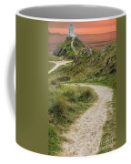 Lighthouse Trail Coffee Mug by Adrian Evans
