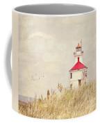 Lighthouse With Red Roof Coffee Mug