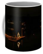 Lighting The Night In York Maine Coffee Mug