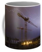 Lightings Above City Coffee Mug