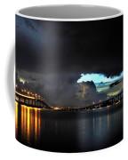 Lightning And The Cerulean Sky Coffee Mug