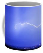 Lightning Over North Boulder Colorado  Ibm Coffee Mug