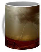 Lightning Strike In Oil Country Coffee Mug
