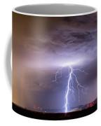 Lightning Strikes Following The Rain  Coffee Mug