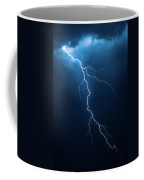 Lightning With Cloudscape Coffee Mug