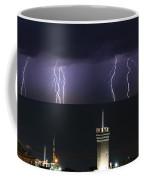 lightnings over Genova Coffee Mug