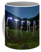 Lightpainting Image Spelling The Word Coffee Mug