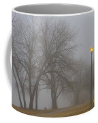 Lights And Fog Setting The Mood Coffee Mug