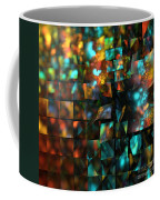 Lights And Fractures Coffee Mug