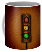 Lights At The Crossing Coffee Mug by Gianfranco Weiss