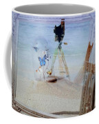Lights Butterflies Sand And Surf Coffee Mug