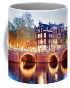 Lights Of Amsterdam Coffee Mug