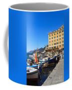 Liguria - Harbor In Camogli Coffee Mug
