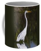 Like A Great Egret Monument Coffee Mug