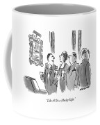 Like It?  It's A Morley Safer Coffee Mug
