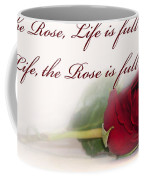 Like The Rose Coffee Mug by Mechala  Matthews