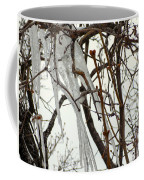 Lilac And Ice Coffee Mug