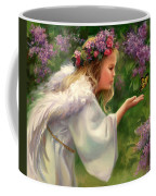 Lilac Angel Coffee Mug