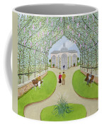 Lilac Arbour Oil On Board Coffee Mug