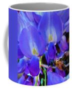 Lilac Blossom And Honey Bee Coffee Mug