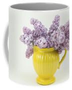 Lilac Boquet - Yellow Vase Coffee Mug