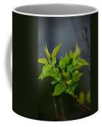 Lilac Leaves Coffee Mug