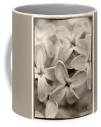 Lilac Macro Sepia Tone Coffee Mug