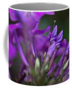 Lilac Petals And Purple Buds Coffee Mug