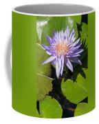 Lilac Water Lily Coffee Mug