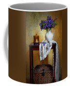 Lilacs And Lace Coffee Mug