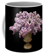 Lilacs In A Green Vase - Flowers - Spring Bouquet Coffee Mug