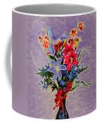 Lilies And Orchids Topaz II Coffee Mug