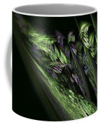 Lilies Of The Fractal Valley Coffee Mug